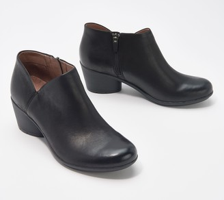 Dansko Burnished Leather Ankle Boots- Raina