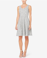 Catherine Malandrino Catherine Nell Jacquard Lace Fit & Flare Dress