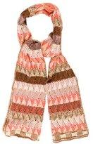 Missoni Wool-Blend Open Knit Scarf