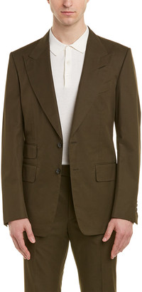 Tom Ford Shelton 2Pc Suit With Flat Pant