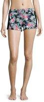Cosabella Dolce Floral-Print Boxer Shorts, Multi Pattern