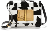 Tom Ford Natalia Large Patchwork Calf Hair Clutch Bag