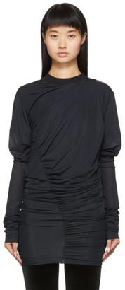 Y/Project SSENSE Exclusive Black Condom Sweatshirt