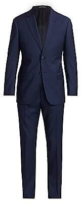 Emporio Armani Men's Pin Stripe Virgin Wool Suit
