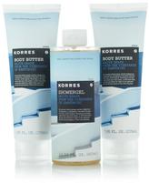 Korres White Grape Santorini Body Trio