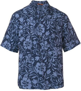 Barena Floral Print Shirt