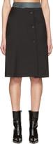 Yang Li Black Double Layer Skirt