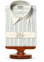 Ralph Lauren Eli Striped Cotton Dress Shirt