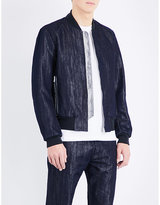 Ps By Paul Smith Metallic Denim Jacket