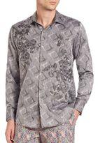 Robert Graham Textured Cotton Shirt