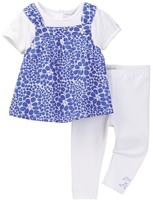 Absorba Popover Tunic & Legging Set (Baby Girls)