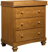 DaVinci Clover 3-Drawer Changer Dresser- Chestnut