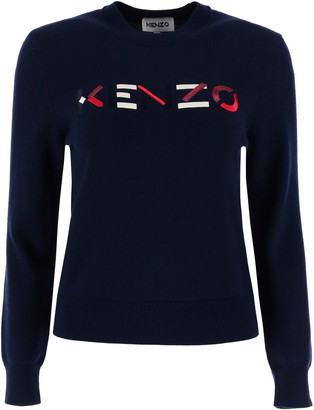 Kenzo Logo Embroidery Sweater