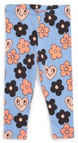 Mini Rodini Infant Girl's Floral Leggings