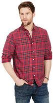 Denim & Supply Ralph Lauren Plaid Cotton Oxford Shirt