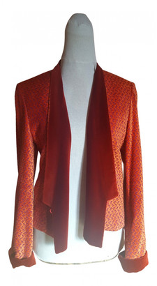 Kenzo Orange Velvet Jackets