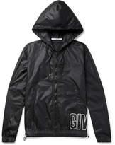 Givenchy Printed Shell Hooded Jacket