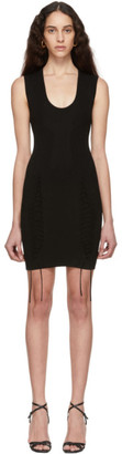 DSQUARED2 Black Fitted Dress