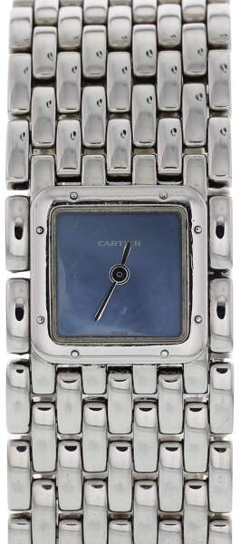 Cartier Panthere Ruban 2420 Stainless Steel 21mm Womens Watch