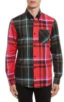 Versus By Versace Plaid Woven Shirt