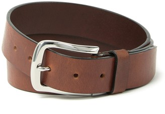 Boconi Leather Burnished Belt