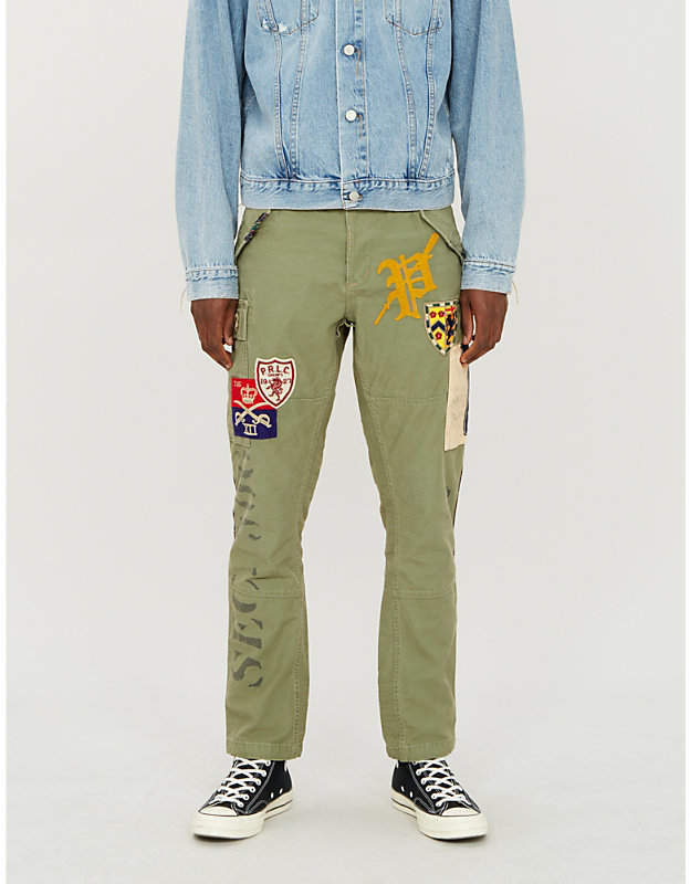 817743f8f0 Cargo Pants Olive Men - ShopStyle UK