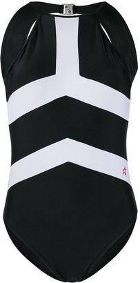Perfect Moment Nordic high-neck swimsuit