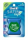 Oral-B Fresh Mint Satin Dental Tape 27 yd (Pack of 6)