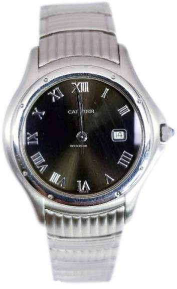 Cartier Cougar Stainless Steel 33mm Mens Watch