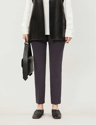 Reiss Joanne tapered woven trousers