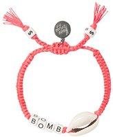 Venessa Arizaga Coral Bombshell Bracelet
