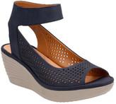 Clarks Women's Reedly Salene Wedge Ankle Strap