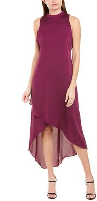 BCBGMAXAZRIA Mock Midi Dress