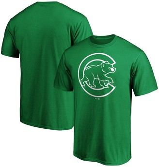 Men's Fanatics Branded Kelly Green Chicago Cubs St. Patrick's Day Logo T-Shirt