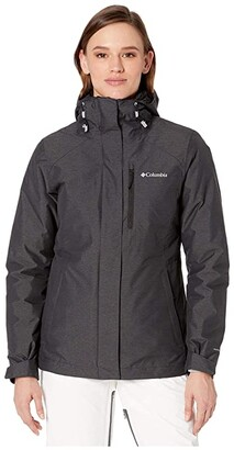 Columbia Whirlibird IV Interchange Jacket (Black Cross-Dye/Black) Women's Coat