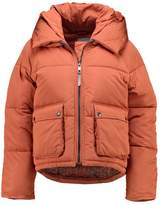 Nümph KUNDUNG Winter jacket cropper brown
