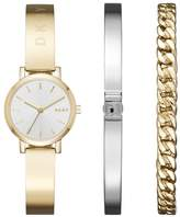 DKNY Women's 'SoHo' Quartz and Stainless-Steel-Plated Casual Watch, Color:-Toned (Model: NY2619)