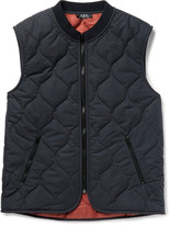 A.p.c. - Bern Quilted Shell Gilet
