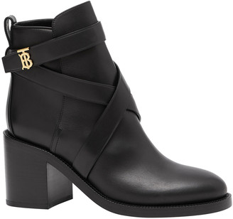 Burberry Pryle TB Strappy Booties