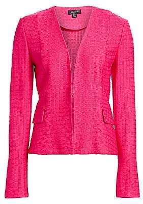 St. John Women's Box Texture Knit Jacket