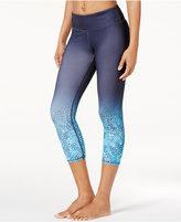 Gaiam Tyra Om Printed Capri Yoga Leggings