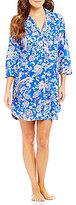 Lauren Ralph Lauren Paisley Jersey Sleepshirt