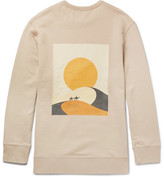 Cmmn Swdn Printed Loopback Cotton-Jersey Sweatshirt