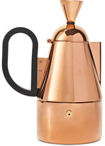 Tom Dixon Copper-plated Stainless Steel Stovetop Coffeemaker - Gold