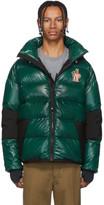 Moncler Green Down Gollinger Puffer Jacket