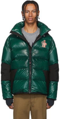 MONCLER GRENOBLE Green Down Gollinger Puffer Jacket