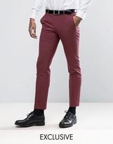 Noose & Monkey Super Skinny Suit Pants