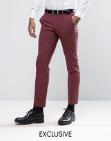 Noose & Monkey Super Skinny Suit Trousers