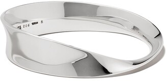 Georg Jensen sterling silver Mobius bangle
