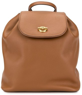 Celine Pre-Owned ring motif backpack